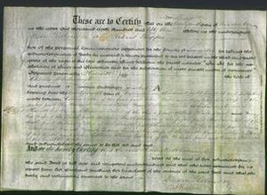 Deed by Married Women - Harriett Whatmough-Original Ancestry