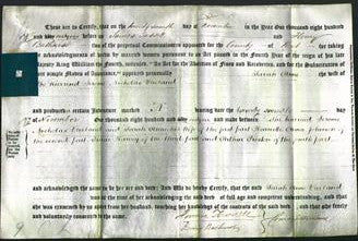 Deed by Married Women - Sarah Anne Ulieland-Original Ancestry