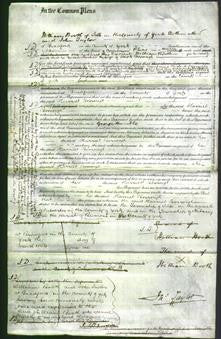 Court of Common Pleas - Harriet Borrough-Original Ancestry