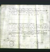 Appointment of Special Commisioners - James Schawe Baker, Andrew Rutherford, William Ronald-Original Ancestry