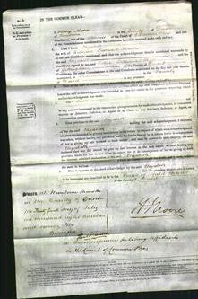 Court of Common Pleas - Elizabeth Charles-Original Ancestry