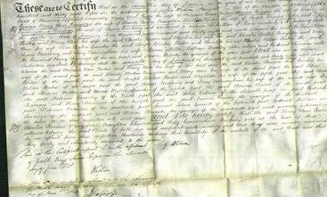 Deed by Married Women - Mary Ann Ponten, Amelia Parsons, Mary Ann Broughton, Charlotte Ponten, Jessy Cunningham Newberry-Original Ancestry