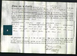 Deed by Married Women - Sarah Amos-Original Ancestry