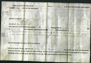 Deed by Married Women - Mary Ann Brown-Original Ancestry