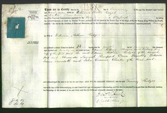 Deed by Married Women - Fanny Hedges-Original Ancestry