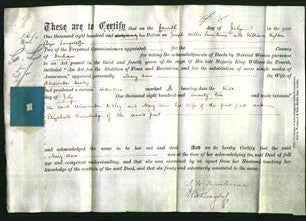 Deed by Married Women - Mary Ann Hedley-Original Ancestry