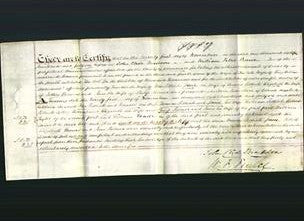 Deed by Married Women - Frances Pethick, Jane Pethick, Elizabeth Thomas and Jane Palmer-Original Ancestry