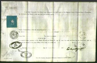 Appointment of Special Commissioners - Thomas Babington and Robert Gregg-Original Ancestry