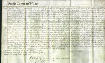 Court of Common Pleas - Elizabeth Marshall-Original Ancestry