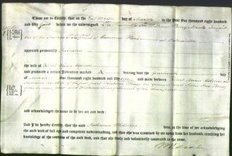 Deed by Married Women - Juliana Holmes-Original Ancestry