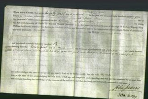 Deed by Married Women - Elizabeth Jones-Original Ancestry