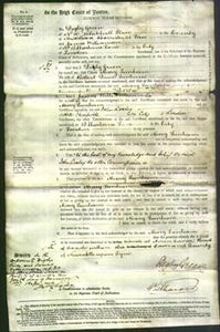 Court of Common Pleas - Mary Lunham-Original Ancestry