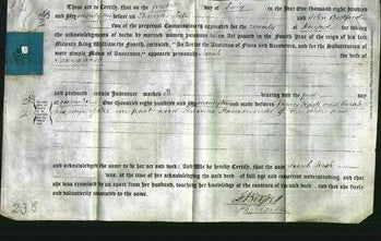 Deed by Married Women - Sarah Nash-Original Ancestry
