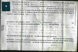 Deed by Married Women - Harriet Slade-Original Ancestry