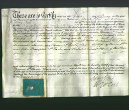 Deed by Married Women - Eleanor St Barbe Laurie-Original Ancestry