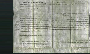 Deed by Married Women - Mary Ann Cole-Original Ancestry