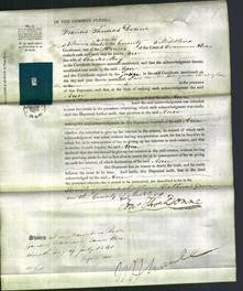 Court of Common Pleas - Ann Mouzan May-Original Ancestry