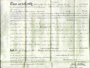 Deed by Married Women - Margaret Christopherson and Mary Little-Original Ancestry