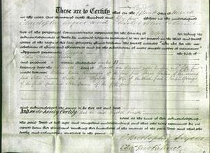 Deed by Married Women - Elizabeth Buston-Original Ancestry