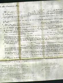 Court of Common Pleas - Mary Lister-Original Ancestry