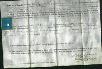 Deed by Married Women - Sarah Nicholl-Original Ancestry
