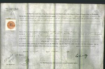 Appointment of Special Commisioners - Samuel Vance, Henry Haigh Bottomley and William C. Cunningham-Original Ancestry