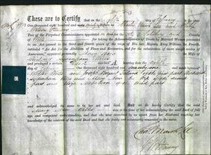 Deed by Married Women - Mary Ann Wills-Original Ancestry