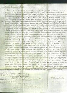 Court of Common Pleas - Mary Cleaton-Original Ancestry