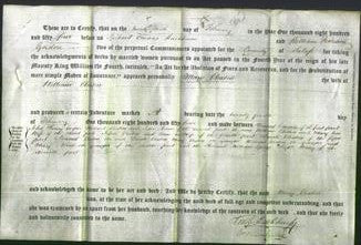 Deed by Married Women - Mary Cleaton-Original Ancestry