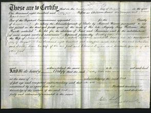 Deed by Married Women - Dorothy Jane Lace-Original Ancestry