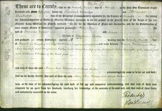Deed by Married Women - Mary Ann Farrow and Sarah Weston-Original Ancestry
