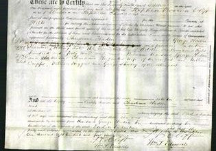 Deed by Married Women - Christiana Haden-Original Ancestry
