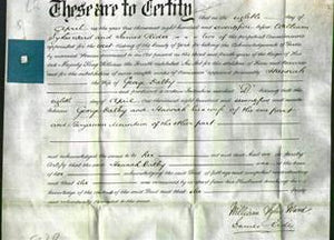 Deed by Married Women - Hannah Dalby-Original Ancestry