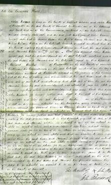Court of Common Pleas - Susan Fackrell and Hannah Webber-Original Ancestry
