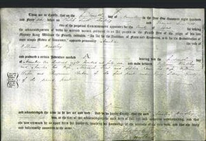 Deed by Married Women - Amelia Woodley-Original Ancestry
