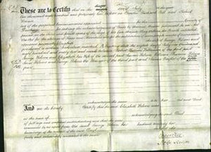 Deed by Married Women - Elizabeth Wilson-Original Ancestry