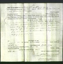Deed by Married Women - Mary Lewis-Original Ancestry