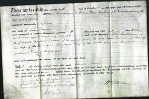 Deed by Married Women - Rebecca Pearson-Original Ancestry