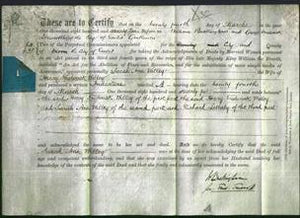 Deed by Married Women - Sarah Ann Willey-Original Ancestry