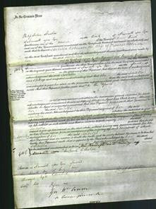 Court of Common Pleas - Isabella Robinson-Original Ancestry