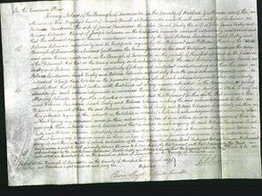 Court of Common Pleas - Rebecca Sanderson, Sarah Saxby and Rebecca Coleman-Original Ancestry