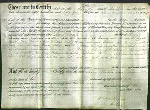 Deed by Married Women - Mary Boden-Original Ancestry
