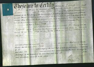 Deed by Married Women - Mary Sutcliffe-Original Ancestry