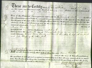Deed by Married Women - Hannah Ramskill Bramley-Original Ancestry