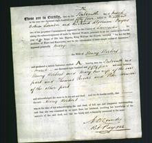 Deed by Married Women - Mary Herbert-Original Ancestry