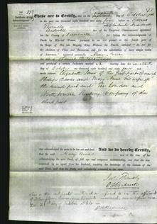 Deed by Married Women - Mary Anne Davies-Original Ancestry