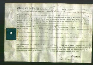 Deed by Married Women - Frances Irwing-Original Ancestry