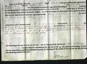 Deed by Married Women - Anne Goldney-Original Ancestry