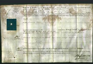 Deed by Married Women - Matilda Baker-Original Ancestry