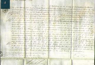 Court of Common Pleas - Maria Gurney-Original Ancestry